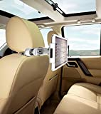 #6: 100% Original [ Car Seat Tablet Mount ] Full Rotating | Adjustable Car Back Seat Head Rest Cradle & Mount | Tablet Mount & Stand | Tab Holder for 7 to 10 Inch Kindle / iPad / Tablets Exclusively by *Easy Shopping Days*(Black)