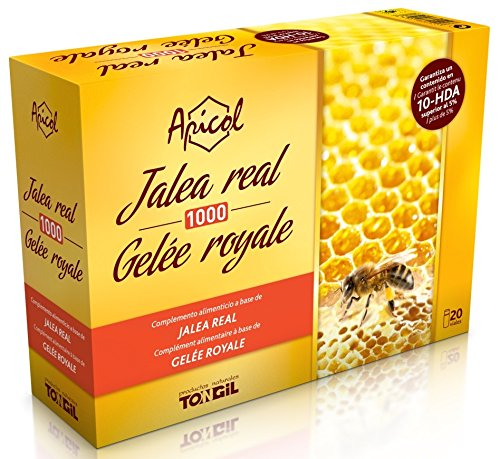 Tongil Royal Jelly Apicol 1000Gr. 20Viales -