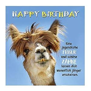 Depesche 5326.047 - Tarjeta de felicitación de cumpleaños, diseño en 3D, Multicolor