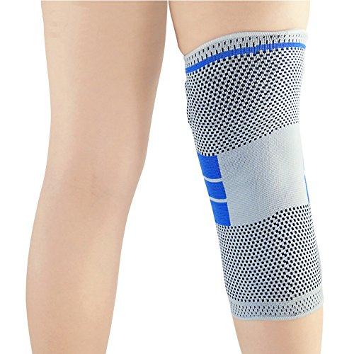 JYMDH Unterstützung Knie Kompression Knie-Knie-Unterstützung für Gemeinsame Schmerzlinderung Wandern Leichte Klammer Unisex Knie Unterstützung, L -