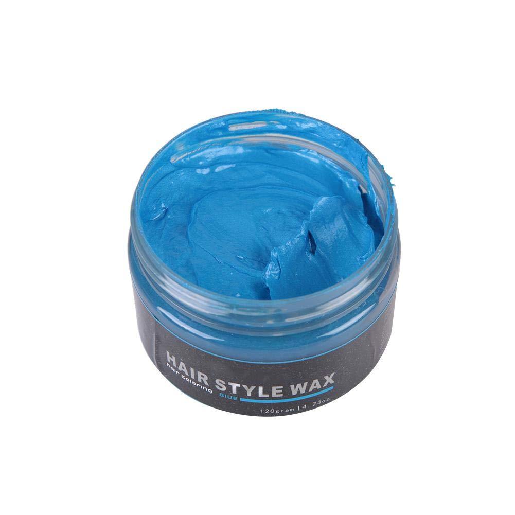 120g Color de cera para el cabello Styling Pomade Tinte para cabello desechable para colorear Mud Peinado Peinado Crema…
