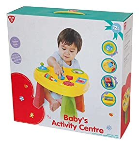 PlayGo 2231-Bebés Actividades Mesa de Juegos, 51,5x 38cm