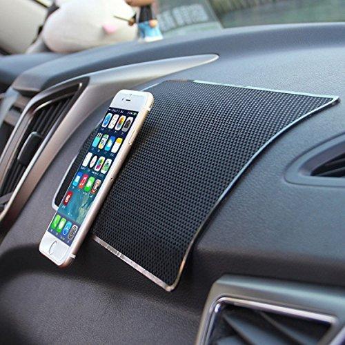 Preisvergleich Produktbild Maximale Stärke Haftung Skid matt Stop Tabelle Nonslip matt Smart Phone Leistungsstark Adsorption Skid matt Ständer Funktion Schwarz