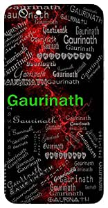Gaurinath (Husband Of Gauri ( Lord Shiva)) Name & Sign Printed All over customize & Personalized!! Protective back cover for your Smart Phone : Huawei 4X