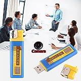 Hanbaili Leichtere Form U Disk Storage mit Kamera, tragbare Videorekorder Camcorder für Office Work ect
