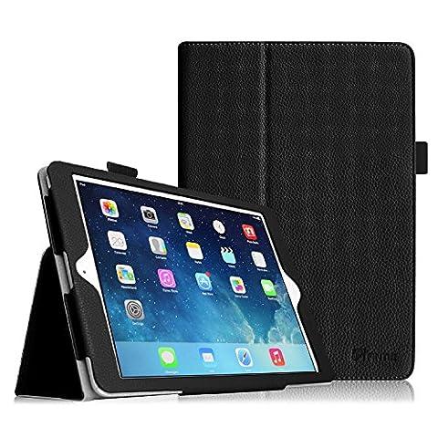 Fintie iPad 9.7 Zoll 2017 / iPad Air Hülle - Folio Slim Fit Kunstleder Schutzhülle Smart Cover Bookstyle Case Etui mit Auto Schlaf / Wach Funktion für Apple All-Neu iPad 9.7 Zoll 2017 / iPad Air (2013 Modell),
