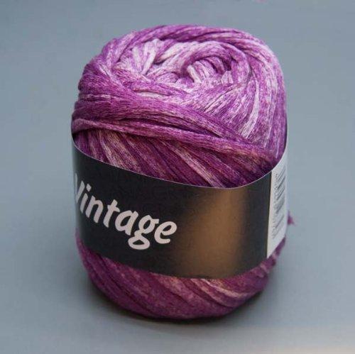Lana Grossa Wolle Vintage 011 pink meliert