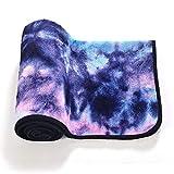 Sabarry Yoga–Esterilla de Yoga de Viaje de Gym Pilates Esterilla Ideal para Hot Yoga 183x 63cm, Color Azul, tamaño Talla única, 1.54
