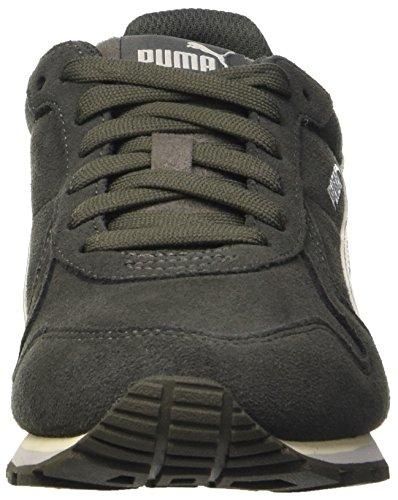 Puma Jungen St Runner Sd Sneaker Grau (Dark Shadow/Whisper White/Gray Violet)