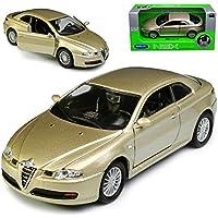 Alfa Romeo GT Silber Coupe 2004-2010 mit Sockel und Vitrine ca 1//43 1//36-1//46 ..