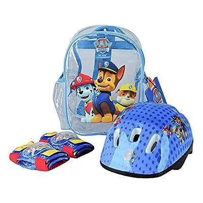 Darpeje - Set de mochila, casco y protecciones Patrulla Canina (OPAW004 ) por Darpeje