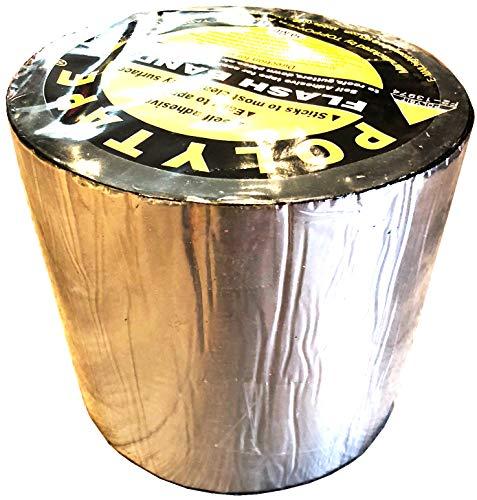 Virtue Retail Flash Band Poly Klebeband, selbstklebend, für Abdichtung & Reparaturen Dächer Rinnen Rohre Air Vents Dachfenster -