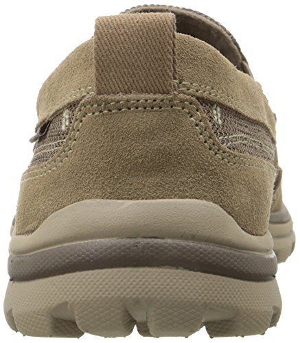 Skechers Superior Milford, Mocassins homme Marron (Light Brown Ltbr)