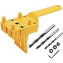 8 /& 10mm 2 X Dowel Drill Set 3pce 6