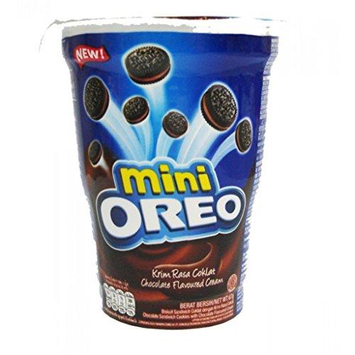 Oreo Mini Chocolate Flavoured Cream Biscuit, 67G 51QQOZEseeL