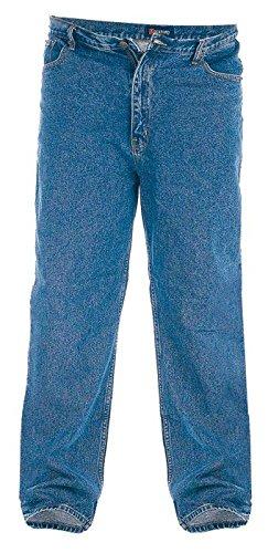 Duke Rockford RJ510comodo da uomo stonewash jeans Stonewashed (Heavyweight Jeans)