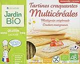 Jardin Bio Tartines Craquantes Multicéréales sans Gluten 150 g - Lot de 4