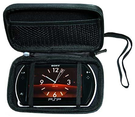 CrazyOnDigital Psp Go Psp Go Accessory. Premium Hard New Black Airform Carrying Case Sony Psp Go