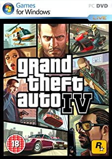 Grand Theft Auto 4 (PC DVD) (B001EO74NW) | Amazon Products