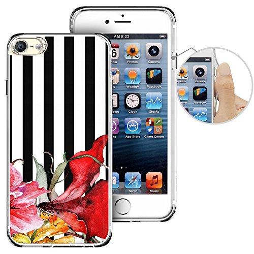Für Ipod Touch 6. Fall, laaco Schöne Klar TPU Case Gummi Silikon Haut Cover Für Apple iTouch 6-Vintage Nautisches Karten, iTouch (39)