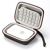 Hard Case für HP Sprocket Portable Photo Printer - Reisetasche zum Aufbewahren von Reisen - Schwarz