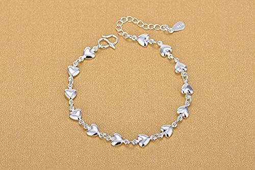 FRLISR Armband,925 Silber Liebe Styling Exquisite Mode Armband Modeschmuck Als Geschenk Beichte Partei Verwendet Werden Kann.