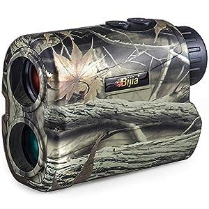 BIJIA Entfernungsmesser Laser Jagd golf Rangefinder 650 Yard ,IP54 Wasserdicht/mit Reichweite/Geschwindigkeit/Scan…