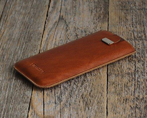 HTC Bolt One 10 A9s S9 X9 A9 M9 M8 M8s E8 Desire 626 825 630 530 Prime Camera Pro Lifestyle Case Leder Hülle Tasche Etui Cover personalisiert durch Prägung mit ihrem Namen, Monogramm