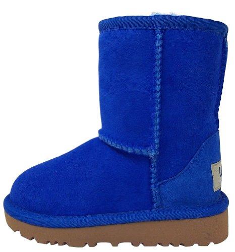 UGG Femmes Classic Short 5825, Damen Stiefel, Bleu électrique