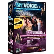 MyVoice 2.0: MYVOICE blendet die Singstimme Deiner Audio-CDs aus! Mit MYVOICE zeigst Du allen, was Du kannst. Werde ein Star!