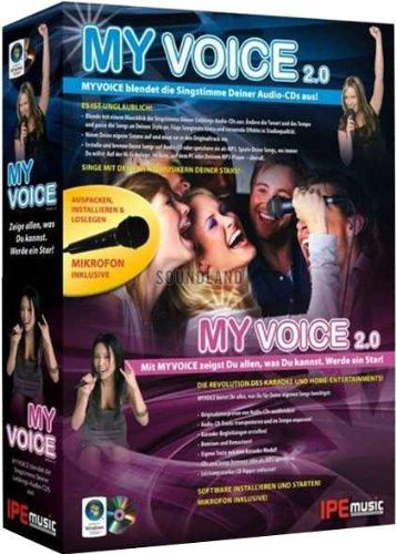 Preisvergleich Produktbild MyVoice 2.0: MYVOICE blendet die Singstimme Deiner Audio-CDs aus! Mit MYVOICE zeigst Du allen,  was Du kannst. Werde ein Star!