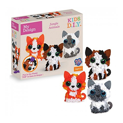 ORB Factory - 77259 - My Design Kitten Pack 3 Personnages 3D