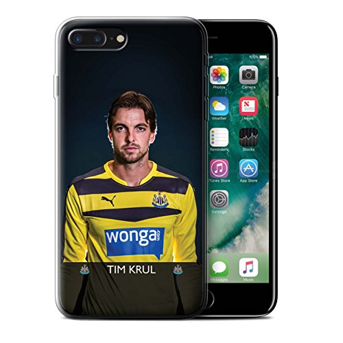 Officiel Newcastle United FC Coque / Etui Gel TPU pour Apple iPhone 7 Plus / Haïdara Design / NUFC Joueur Football 15/16 Collection Krul