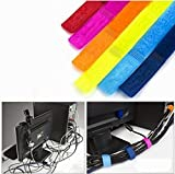 HOKIPO Colorful Cable Wire Ties Curtain ...