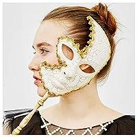 YUFENG Women Handheld Mask, Venetian Style Costume