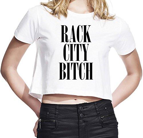 Rack City B*tch Damen Abgeschnittenes Jersey Medium (Chris Wells Jersey)