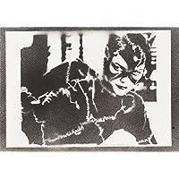 Catwoman Handmade Street Art - Artwork - Poster