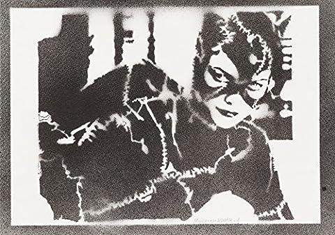 Arkham Robin Costumes - Catwoman Handmade Street Art - Artwork -