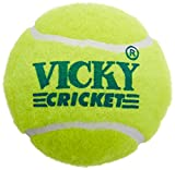 #2: Vicky Tennis Cricket Ball, Pack of 6 (Yellow)