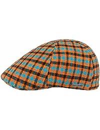 52231c351aae09 Stetson Texas Millbury Check Flatcap Baumwollcap Schirmmütze Schiebermütze  Sommercap für Herren mit…