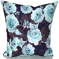 Sunburst Outdoor Living 45cm x 45cm HOPE Federa decorativa per cuscini per divano, letto, sofà (Rust Brown Set Esterno)