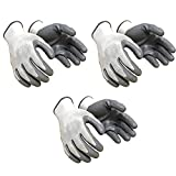 Superior Safety Nylon Anti cut, cut resistant hand Gloves (3 pair)