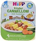 HiPP Pasta im ganzen Stück Cannelloni mit Gemüse, 1er Pack (1 x 250 g)