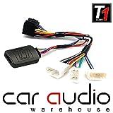 Adaptador de interfaz de control para mando de volante de coche T1-TY1 con cable de conexión, compatible con Toyota, de T1 Audio