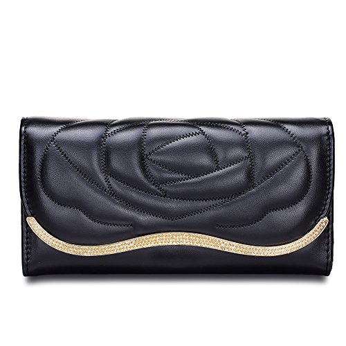 maijin-womens-wallet-flower-pattern-pu-leather-coin-purses-clutch