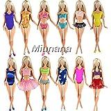 Miunana 5 Maillots de Bain Pour Barbie de Livraison Aléatoire