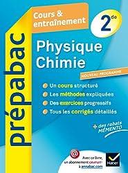 Physique-Chimie 2de - Prépabac Cours & entraînement: Cours, méthodes et exercices - Seconde