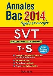 Annales Bac 2014 sujets et corrigés - SVT Terminale S