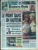 FRANCE SOIR du 26/06/1995 - LE RUGBY SOUDE L'AFRIQUE DU SUD - LE MIRACLE DES BOKS 3 GRANDES VILLES ONT UN MAIRE LEPENISTE - LE FRONT DANS UN FAUTEUIL LE FRIGO DU FN PAR MORROT TIBERI VEUT VENDRE AUX ENCHERES LES APPARTEMENTS PRIVES DE LA CAPITALE CANNES - FESTIVAL POLICIER PAS TRES GAY PAR BOUVARD A LA MANIF HOMO...