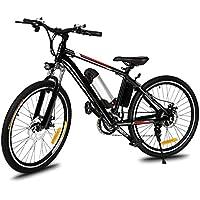 ZEARO VTT Electrique 26 Adulte Homme Femme Pas Cher e Bike MTB 21 Vitesses Batterie Lithium 36v kit Velo Electrique
